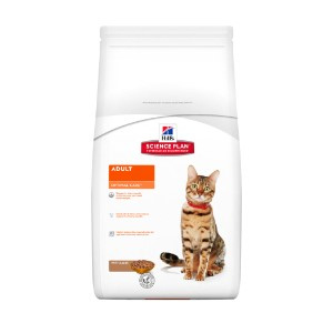 Image for Hills Science Plan Optimal Care Adult Cat Food with Lamb from Pets At Home