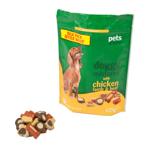 Image for Doggy Mixtures Dog Treats with Chicken, Lamb and Game from Pets At Home