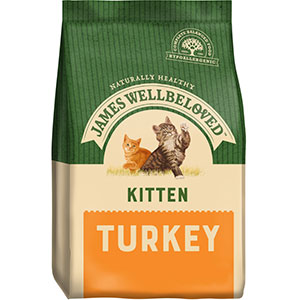 Image for James Wellbeloved Complete Kitten Food with Turkey from Pets At Home