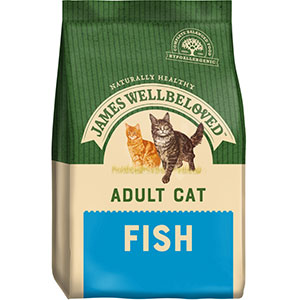Image for James Wellbeloved Complete Adult Cat Food with Fish from Pets At Home