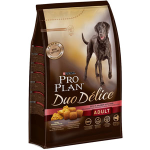 Image for PRO PLAN Duo Delice Adult Dog Salmon and Rice from Pets At Home