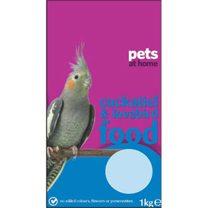 Image for Cockatiel Food from Pets At Home