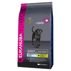 Image for Eukanuba Large Breed Adult Dog Food with Chicken from Pets At Home
